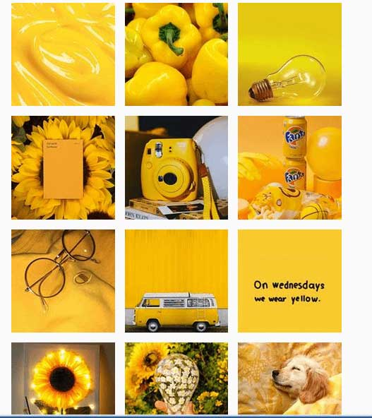 Yellow.aesthetics