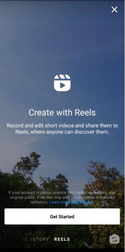 Reels Screen