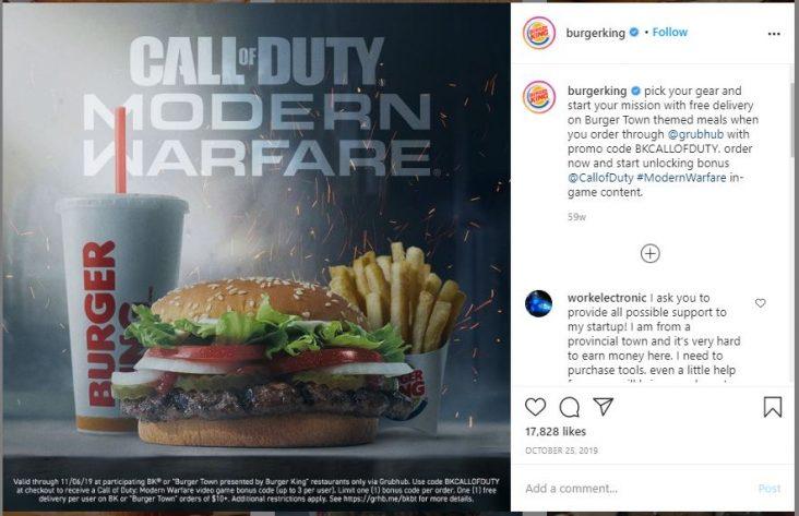 Burger King Tag