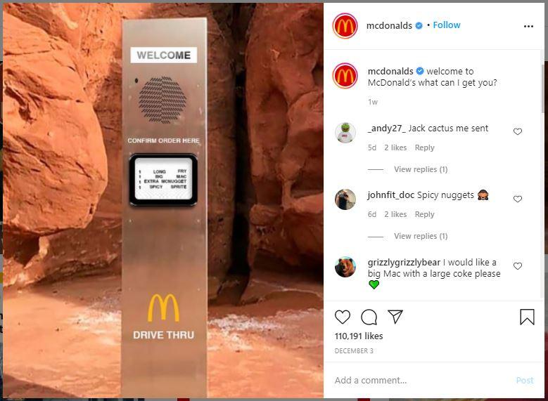 McDonalds Trend