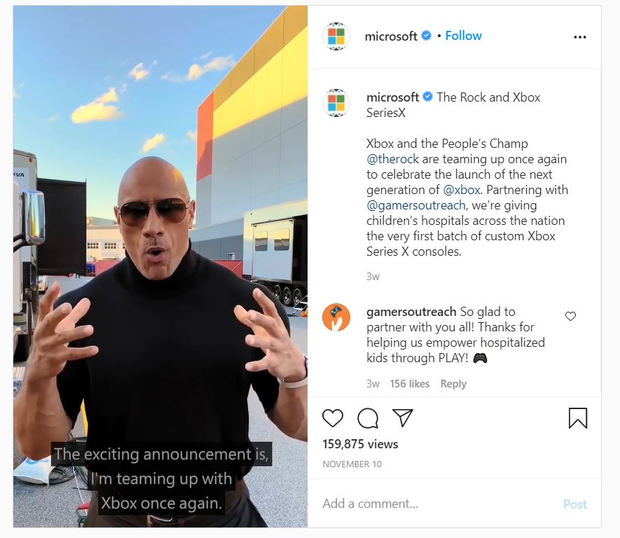 Microsoft x Rock
